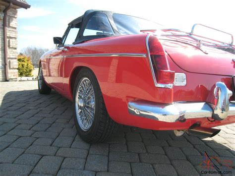 mgc usa 1968 mgc roadster automatic one of the best in the