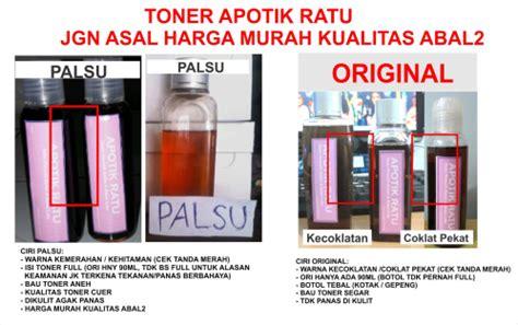 Toner Ratu Original whitening toner ratu tokonyalucy