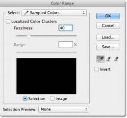 photoshop select color how to use the color range command in photoshop