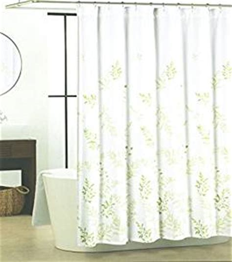 tahari botanical nature cotton shower curtain