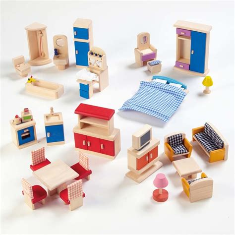 dolls house furniture sets buy small world dolls house rooms furniture set tts