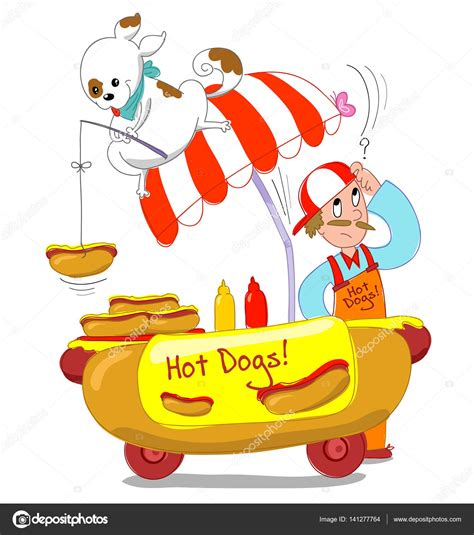 imagenes de un hot dog animado 161 hot dogs ilustraci 243 n de dibujos animados fotos de