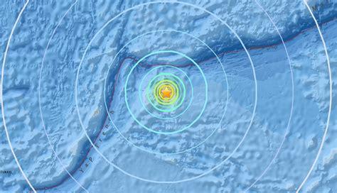 earthquake december 2017 3 powerful earthquakes strike micronesia m6 5 m6 4 and