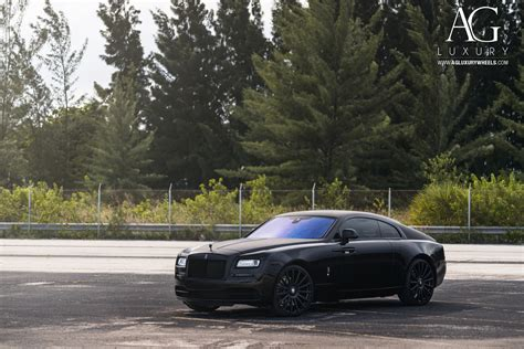 matte rolls royce wraith ag luxury wheels rolls royce wraith forged wheels