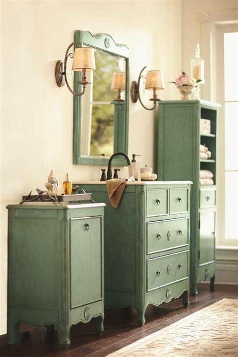 decorar banos  muebles de bano  accesorios vintage