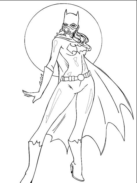 batgirl and supergirl coloring pages unique batgirl