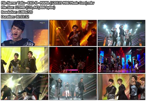 download mp3 exo k mama download perf exo k mama mbc music core 120519