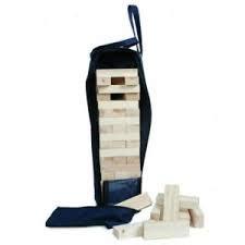 buitenspeelgoed jenga vlinderhout 183 183 houten blokken in tas jenga