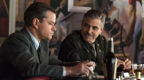 George Clooney Doesnt Come Cheap by George Clooney The Monuments Actors Took A Paycut To Make