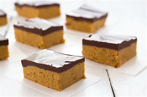 no bake peanut butter bars with chocolate on top no bake chocolate peanut butter bars the blond cook