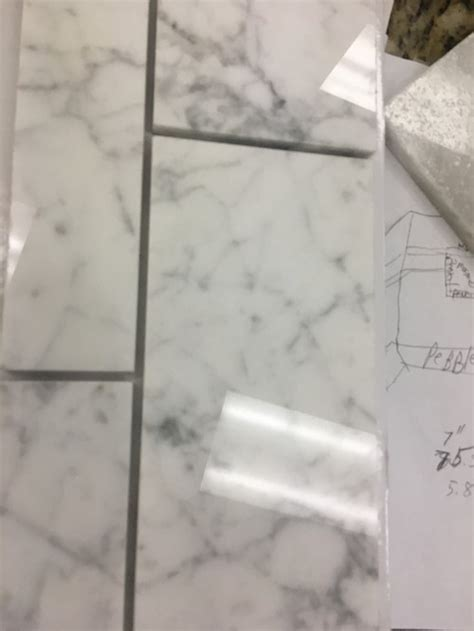How To Clean Marble Tiles In Shower by How To Clean Grout In Marble Tile Shower Thecarpets Co