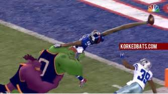 new york giants touchdown catch images