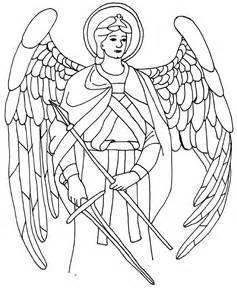 saint raphael coloring page angels pinterest other