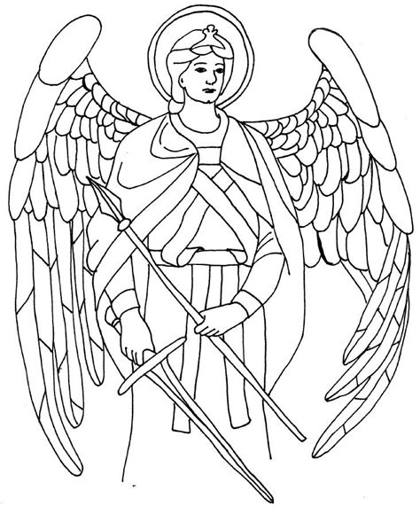 coloring page angel gabriel 14 best images about angels on pinterest catholic