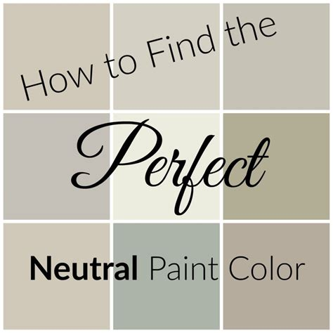 how to find a paint color you will