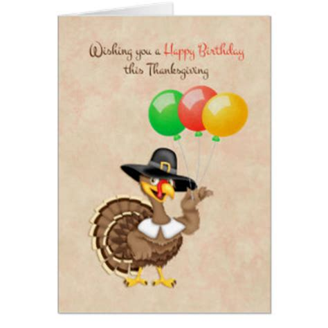 Turkish Happy Birthday Wishes Happy Birthday Turkey Cards Zazzle