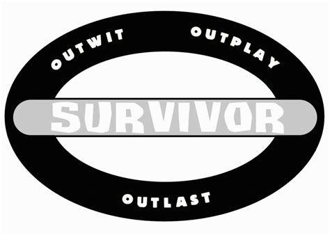 Image Survivor Logo Vector1 Png Survivor Wiki Fandom Powered By Wikia Survivor Logo Template