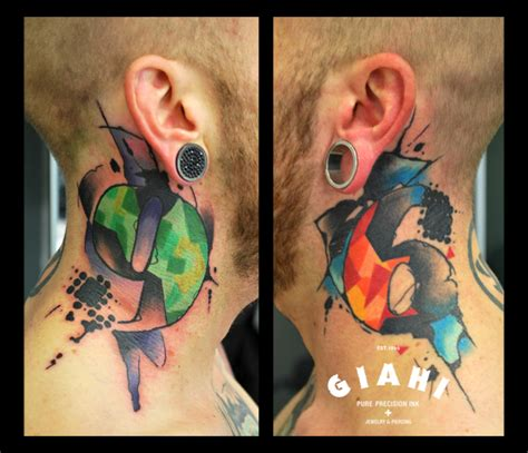 what is the tattoo on zero neck 96 neck tattoo by live two best tattoo ideas gallery