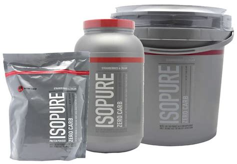 proteina 0 carb zero carb isopure review purely made of protein or just