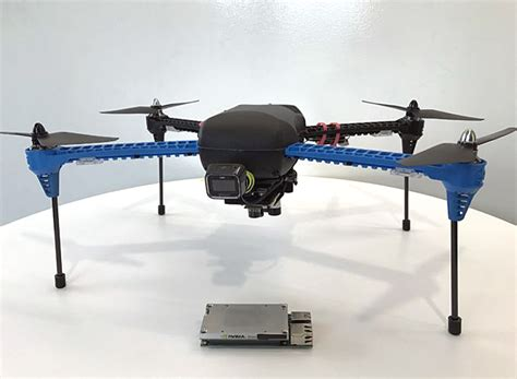designboom drone nvidia s autonomous drones go anywhere without gps