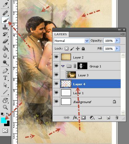 tutorial adobe photoshop efek tulisan membuat efek water painting dengan adobe photoshop