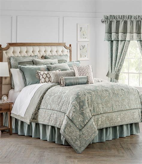waterford comforter set waterford mercer jacobean scroll comforter set dillards