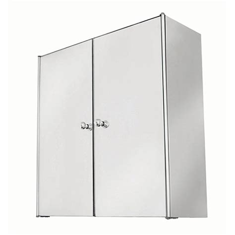 wickes bathroom mirror cabinets wickes bathroom double mirror cabinet stainless steel 440mm wickes co uk