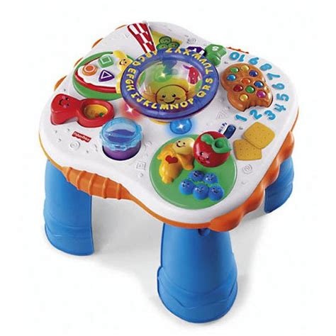 laugh learn table toys4toddlers fisher price laugh and learn learning table
