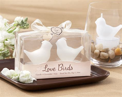 Wedding Favors Candles by Quot Birds Quot White Bird Tea Candles