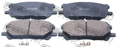 for toyota harrier 4wd 2003 front disc brake pad kit oem