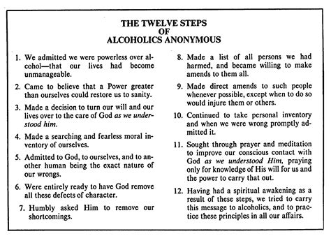 Aa 12 Steps Worksheets by The 12 Steps Are For Everyone Your Slaviswife Is Evolving