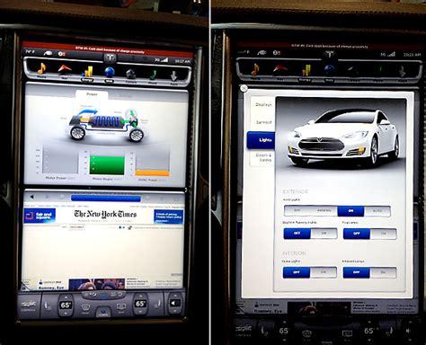 Tesla Diagnostics Tesla Model S Tablet Pcs Will Change Your Dashboard