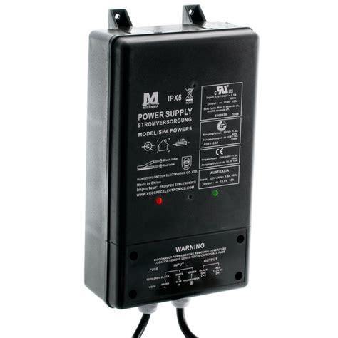 spa stereo power supply converts vacvac  vdc