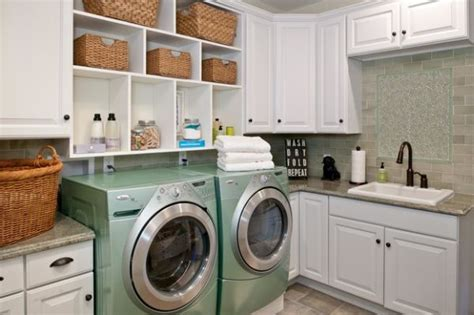 Wainscoting Ideas For Hallway - 33 laundry room shelving and storage ideas