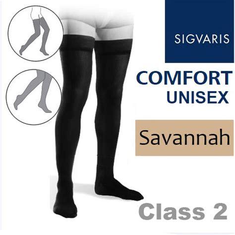 sigvaris comfort sigvaris unisex comfort thigh class 2 ral savannah