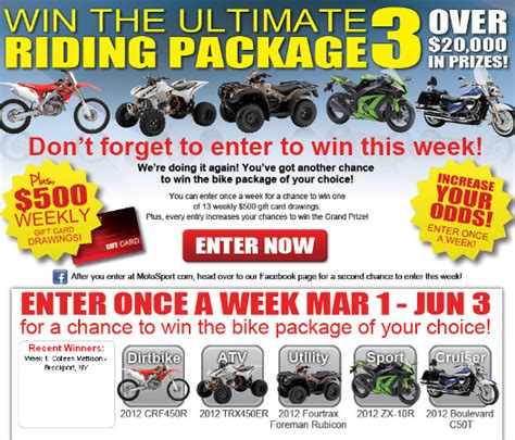 Dont Forget To Enter To Win This by Don T Forget To Enter This Week Honda Motorcycles