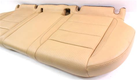 leather bench seat cushions rear back bench seat lower cushion leather 05 10 vw jetta
