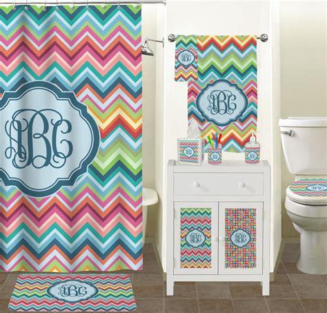 chevron bathroom ideas retro chevron monogram tissue box cover personalized