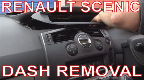 how to remove dash panel from a 2012 buick enclave how to remove renault scenic dashboard digital dash panel instrument cluster youtube