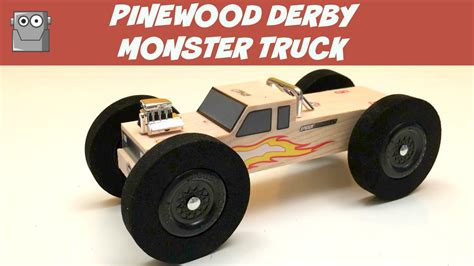 Pinewood Derby Truck Templates