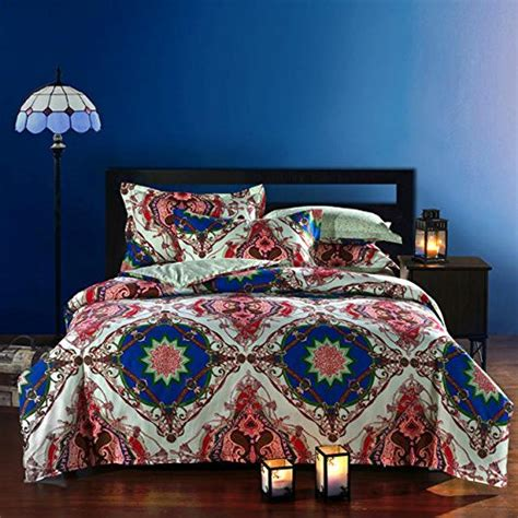 boho queen bedding fadfay bohemian style duvet covers bedding set queen size