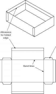 pattern development in drawing development of patterns from sheet materials engineering