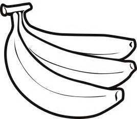 How To Draw Banana Banana Drawing Clipart Best