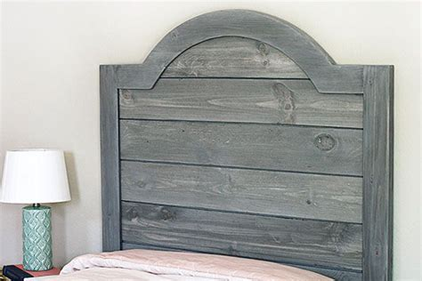 wood panel headboard diy diy headboard made with faux shiplap panels diy