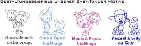 Autoaufkleber Kind Baby by Babyaufkleber Autoaufkleber Namenaufkleber