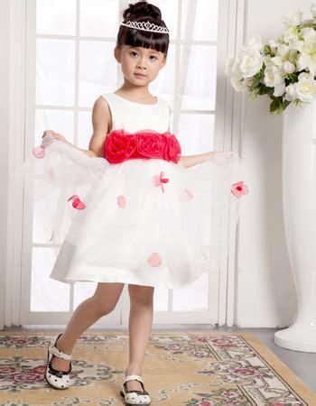 L 1031 Royal Flower Dress pretty a line scoop mini satin organza easter