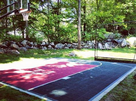 Backyard Basketball Courts by Triyae Small Basketball Court In Backyard Various