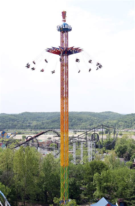 six flags swing ride summer of fear 5 rides that will scare you to death this
