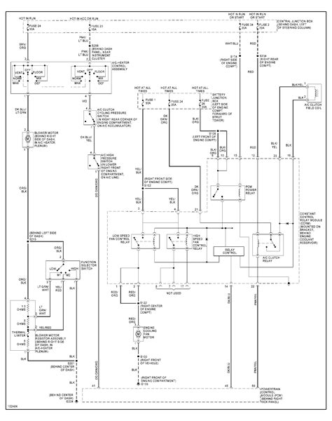 ac pressor relay wiring diagram wiring diagram