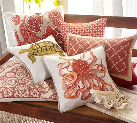 Pottery Barn Pillow by La Paz Jeweled Turtle Pillow Covers Pottery Barn